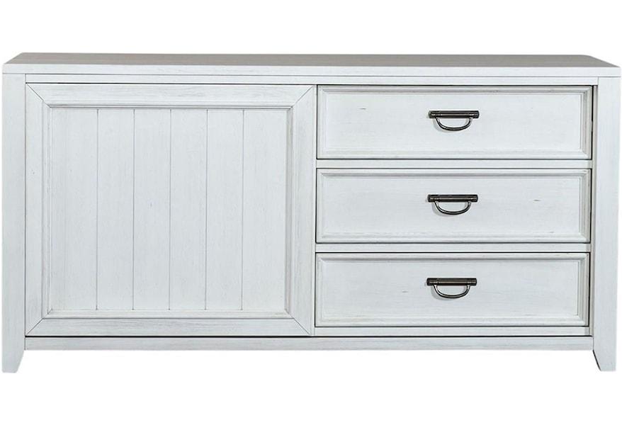 Liberty Furniture Allyson Park Kid S Bedroom Sliding Door Dresser Zak S Home Dressers