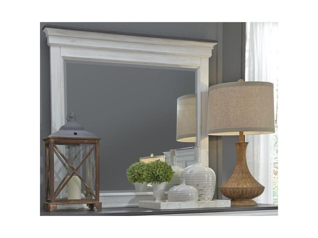 Liberty Furniture Allyson ParkCrown Mirror