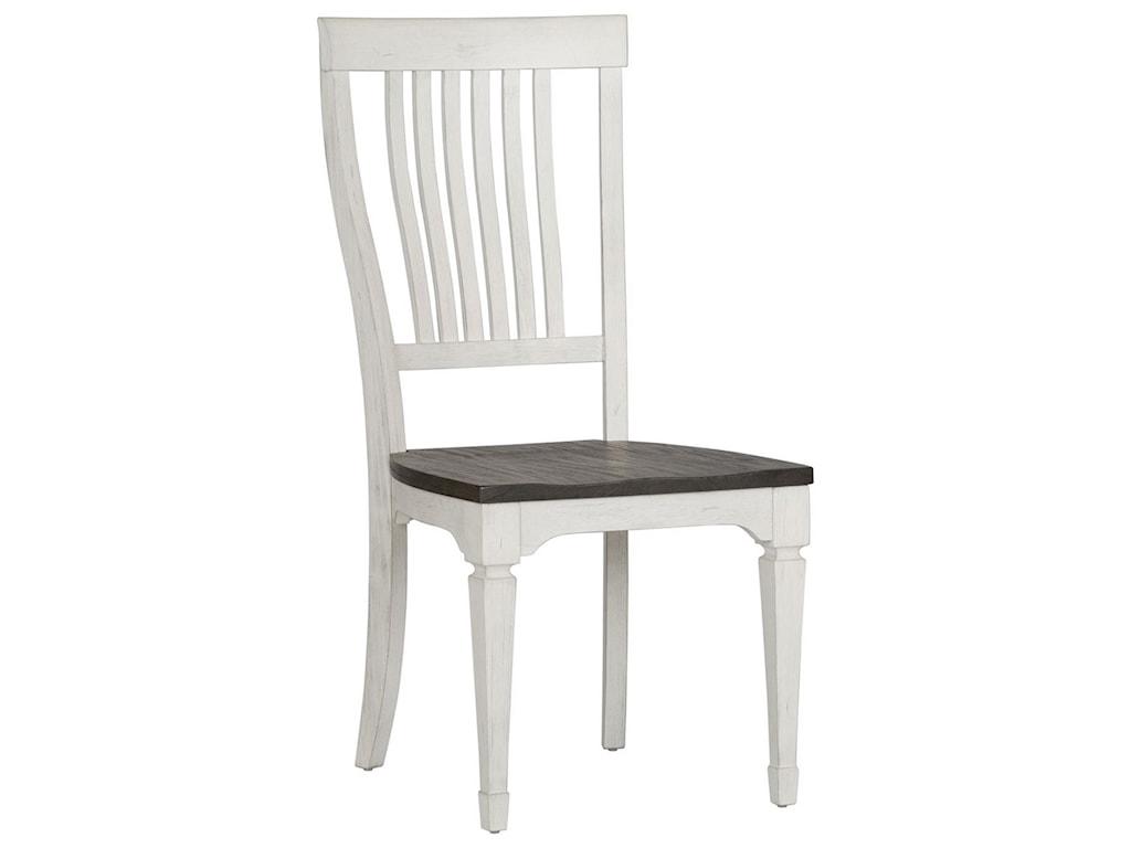 Liberty Furniture Allyson ParkSlat Back Side Chair