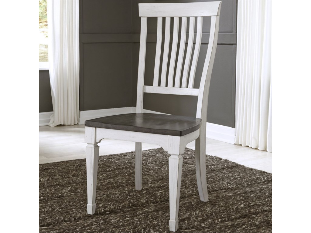 Liberty Furniture Allyson ParkSlat Back Side Chair