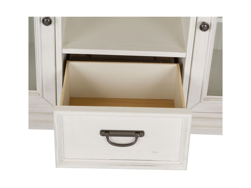 Liberty Furniture Allyson Park3 Drawer 2 Door Buffet