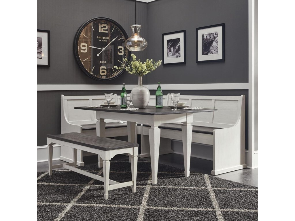 Liberty Furniture Allyson Park5-Piece Leg Table Set