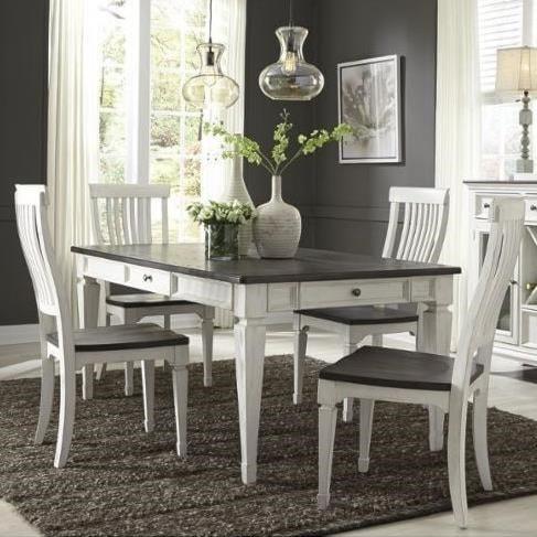 Liberty Furniture Allyson Park5 Piece Rectangular Table Set
