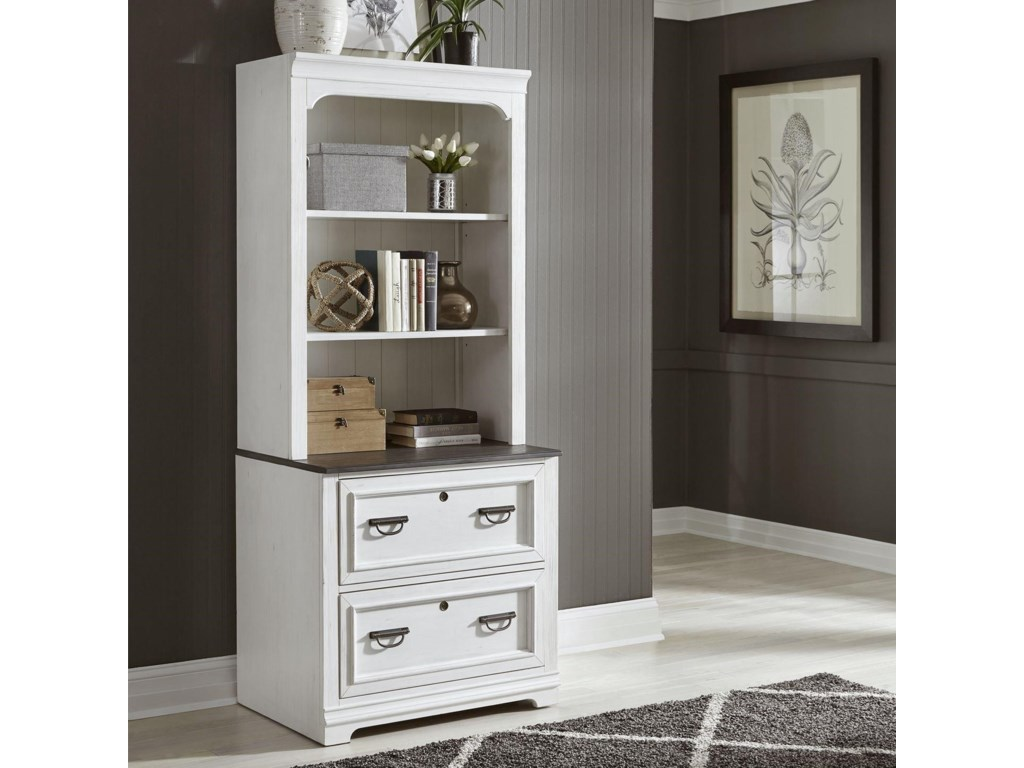 Liberty Furniture Allyson ParkLateral File and Hutch