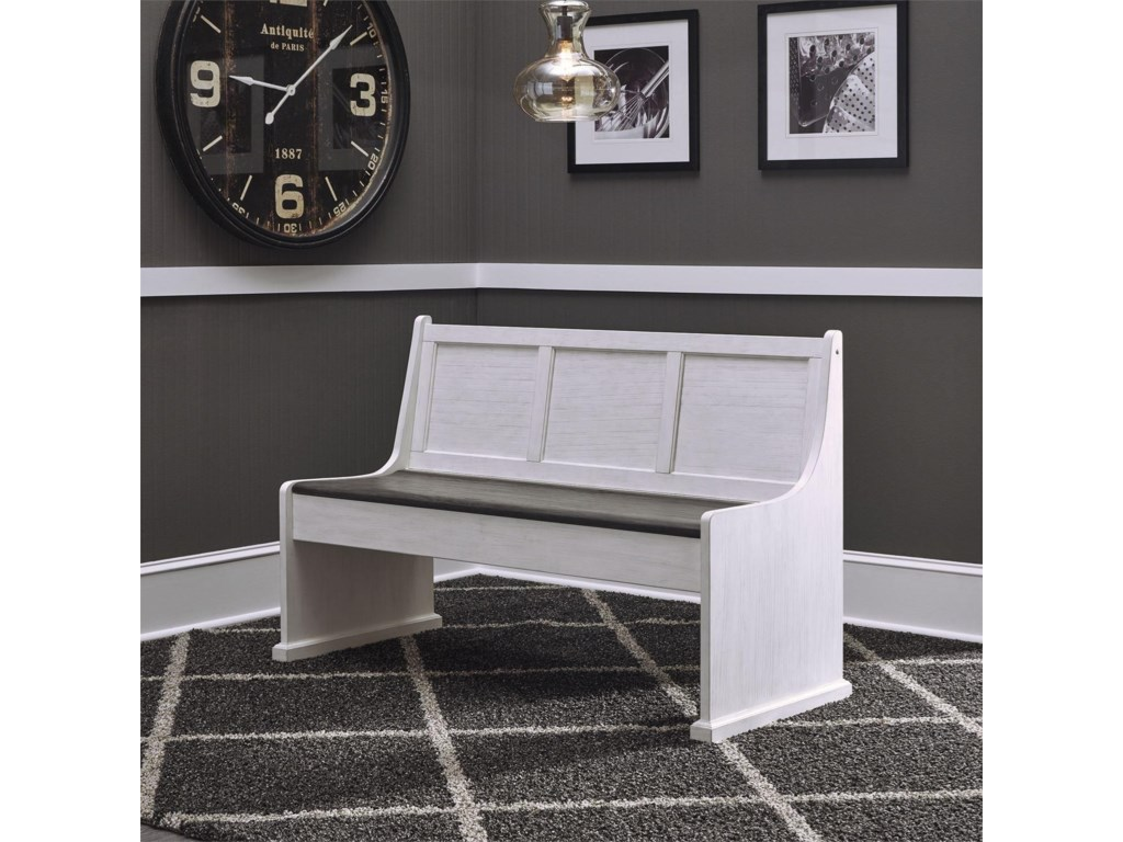 Liberty Furniture Allyson Park56 Inch Nook Bench