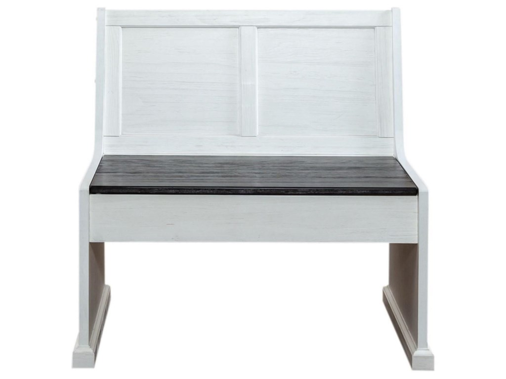 Liberty Furniture Allyson Park37 Inch Nook Bench