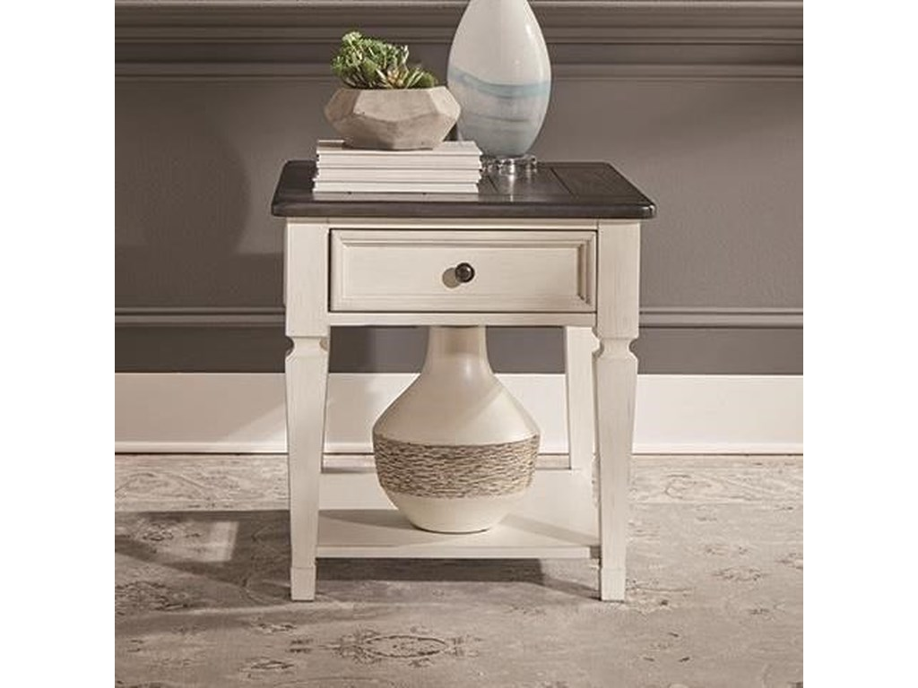 Liberty Furniture Allyson ParkDrawer End Table