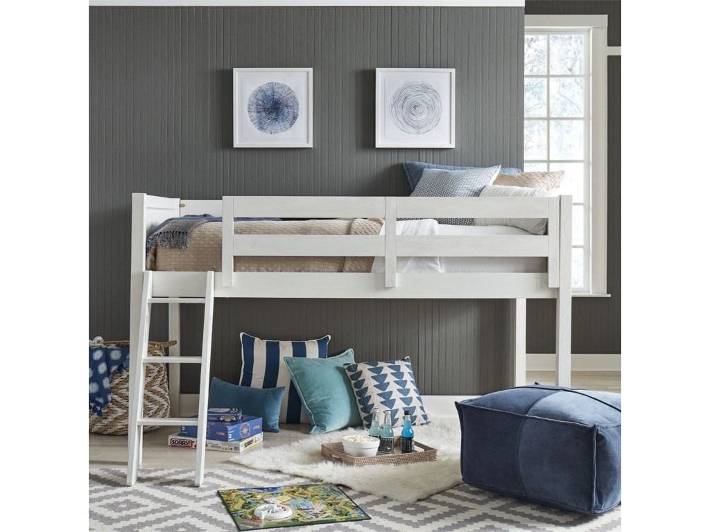 Liberty Furniture Allyson ParkTwin Loft Bed Open