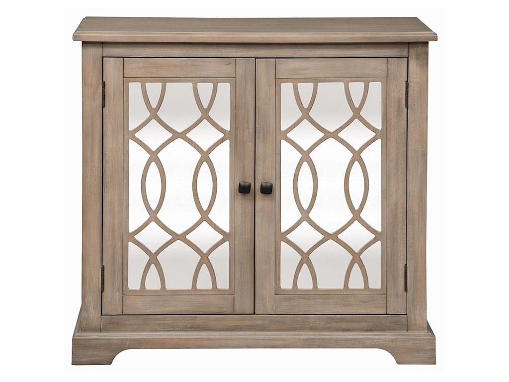 Liberty Furniture Alpine2 Door Mirrored Accent Cabinet