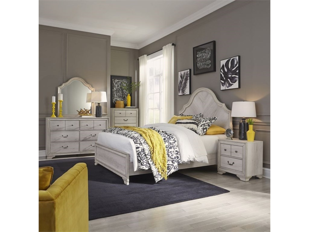 Liberty Furniture Amelia CourtCalifornia King Panel Bed