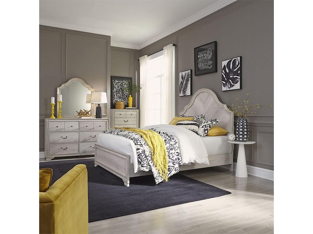 Liberty Furniture Amelia CourtQueen Bedroom Group