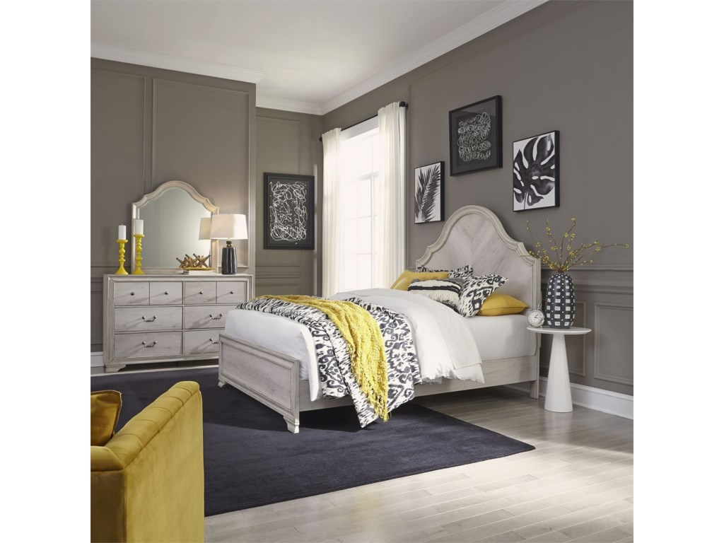 Liberty Furniture Amelia CourtQueen Bedroom Group