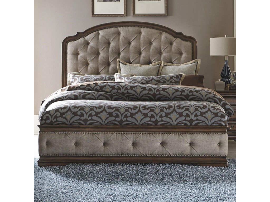 Liberty Furniture AmeliaKing Upholstered Bed