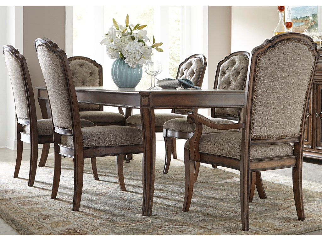 Liberty Furniture Amelia Dining7 Piece Rectangular Table Set