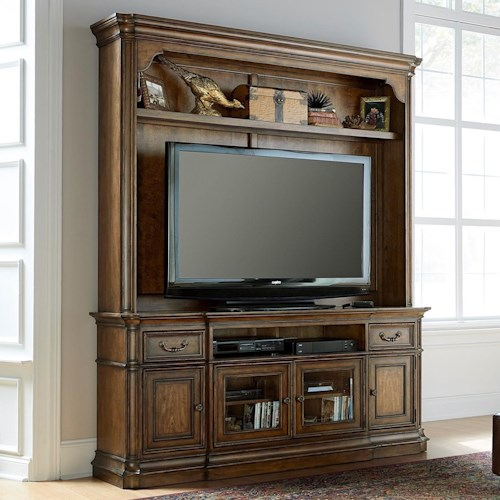 Liberty Furniture Amelia Entertainment Entertainment Center with Wire Management