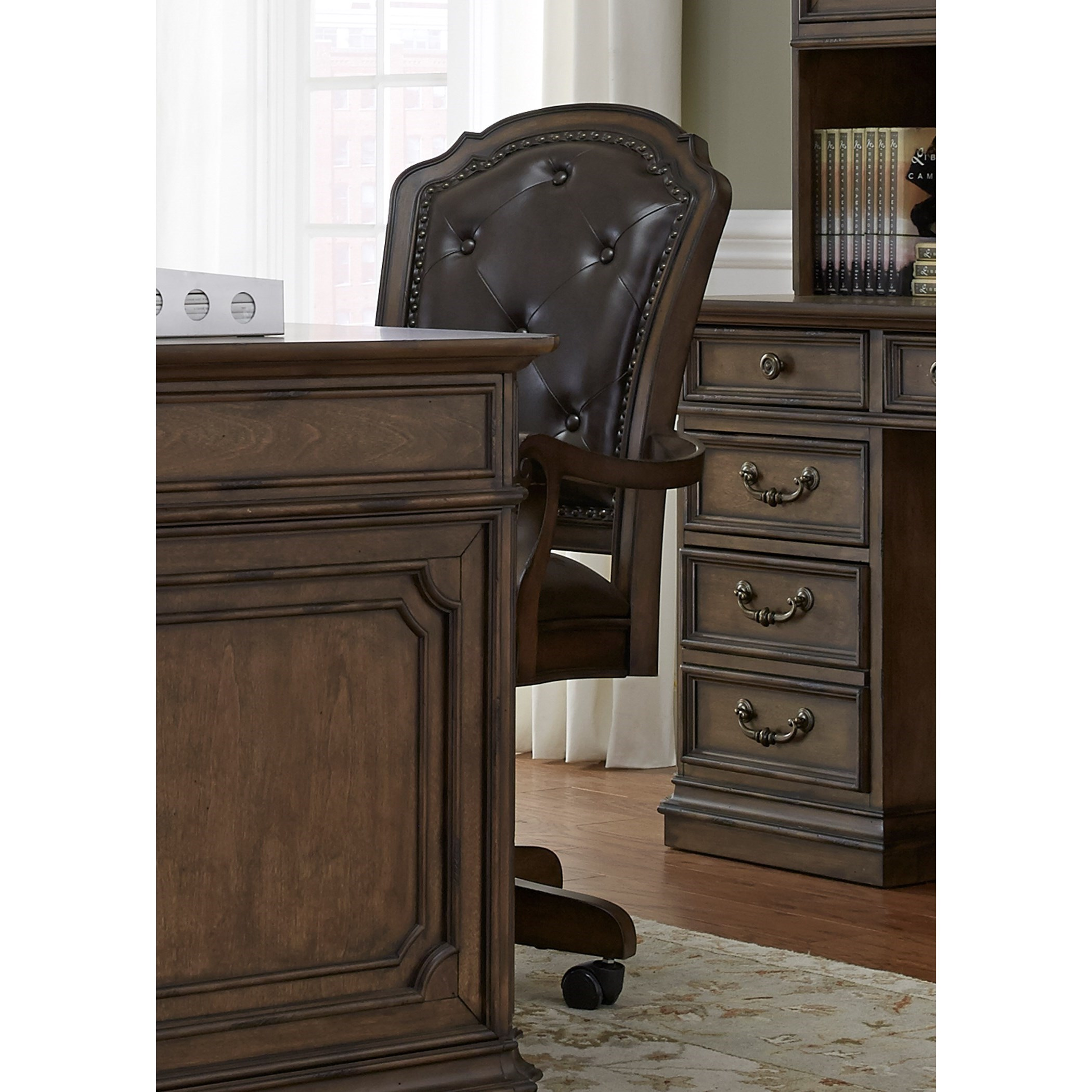 Liberty Furniture Amelia Home Office Traditional Executive Office Chair