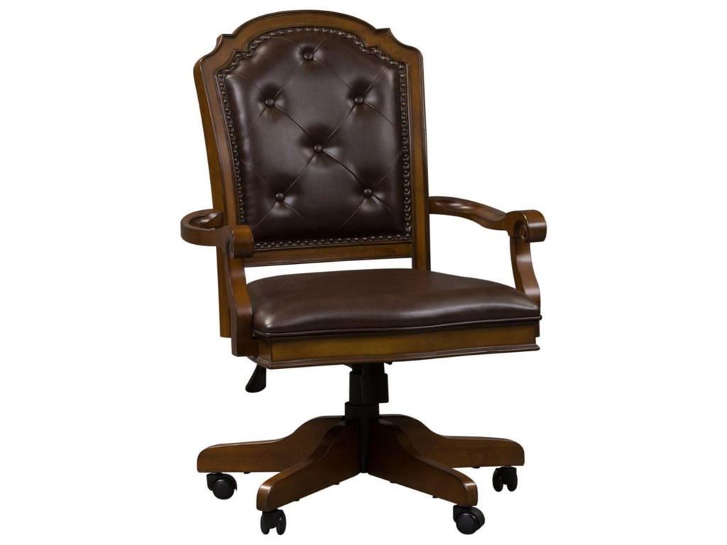 Liberty Furniture Amelia Home Office Traditional Executive Office Chair Royal Furniture Executive Desk Chairs