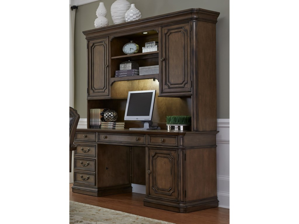 Liberty Furniture Amelia Home OfficeJr Executive Credenza