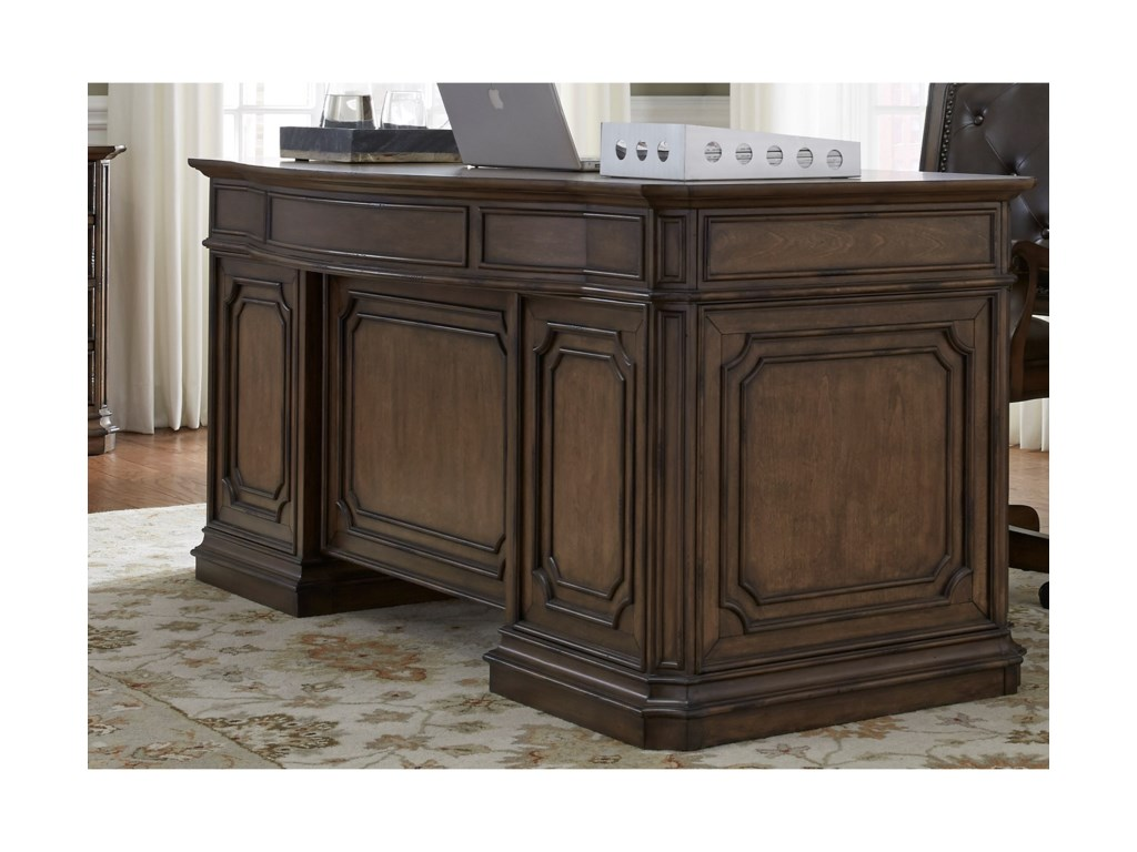 Liberty Furniture Amelia Home OfficeJr Executive Desk