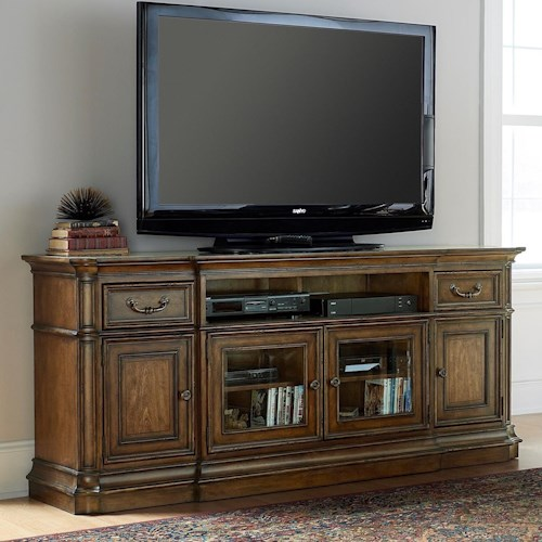 Liberty Furniture Amelia Entertainment Entertainment TV Stand with Wire Management