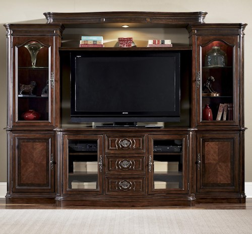 Liberty Furniture Andalusia Entertainment Center Wall Unit