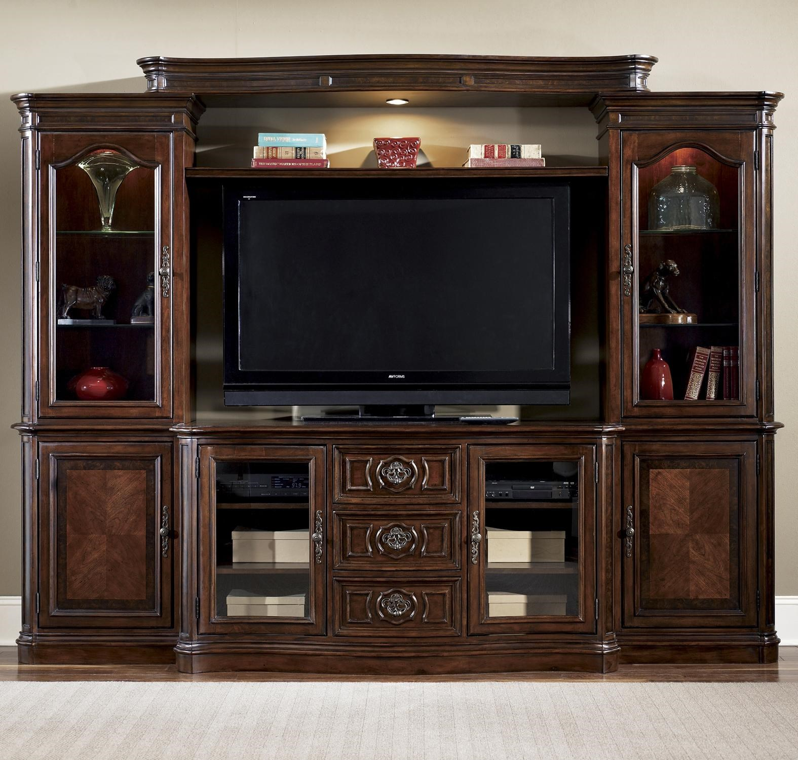 Andalusia Entertainment Center Wall Unit By Liberty Furniture At Rotmans