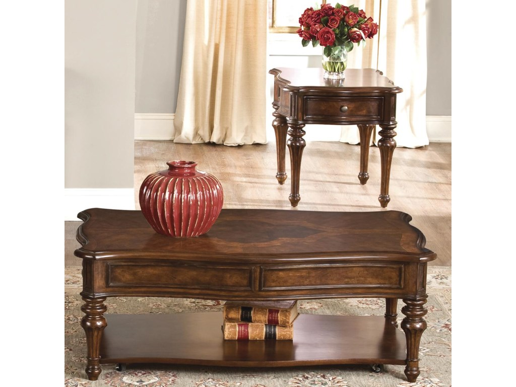 Vendor 5349 Andalusia3 Piece Occasional Table Set