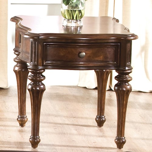 Liberty Furniture Andalusia Traditional End Table
