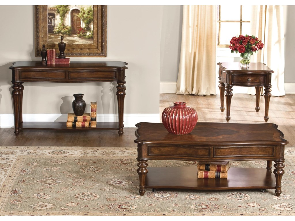 Liberty Furniture AndalusiaEnd Table