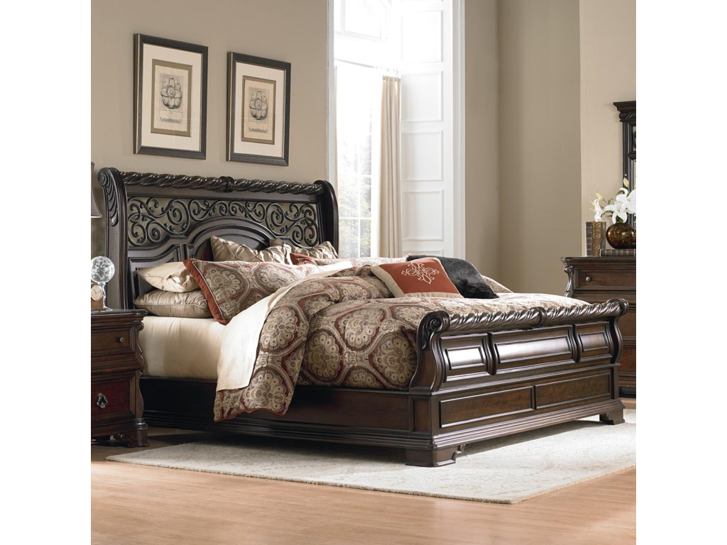 Liberty Furniture Arbor PlaceKing Sleigh Bed