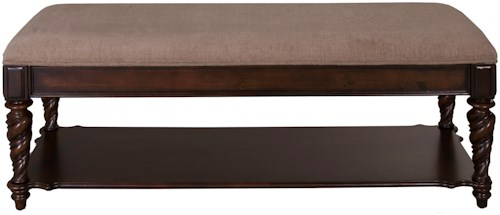 Liberty Furniture Arbor Place RTA Upholstered Bed Bench