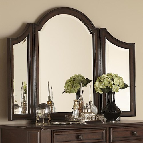 Liberty Furniture Arbor Place Tri-fold Vanity Mirror