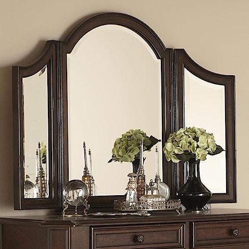 Liberty Furniture Arbor Place Tri-fold Vanity Mirror