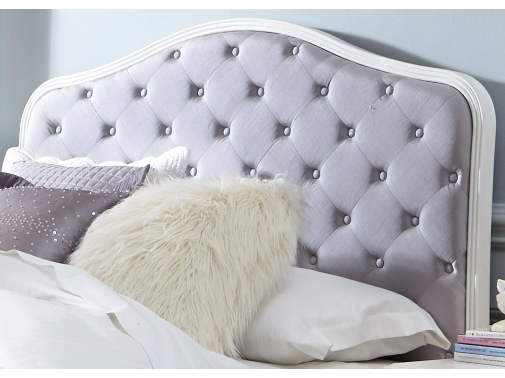 Liberty Furniture Arielle Youth BedroomFull Uph Panel Headboard