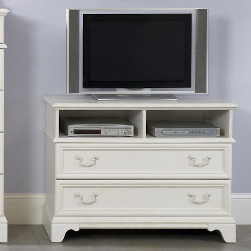 Liberty Furniture Arielle Youth Bedroom Traditional Media Chest