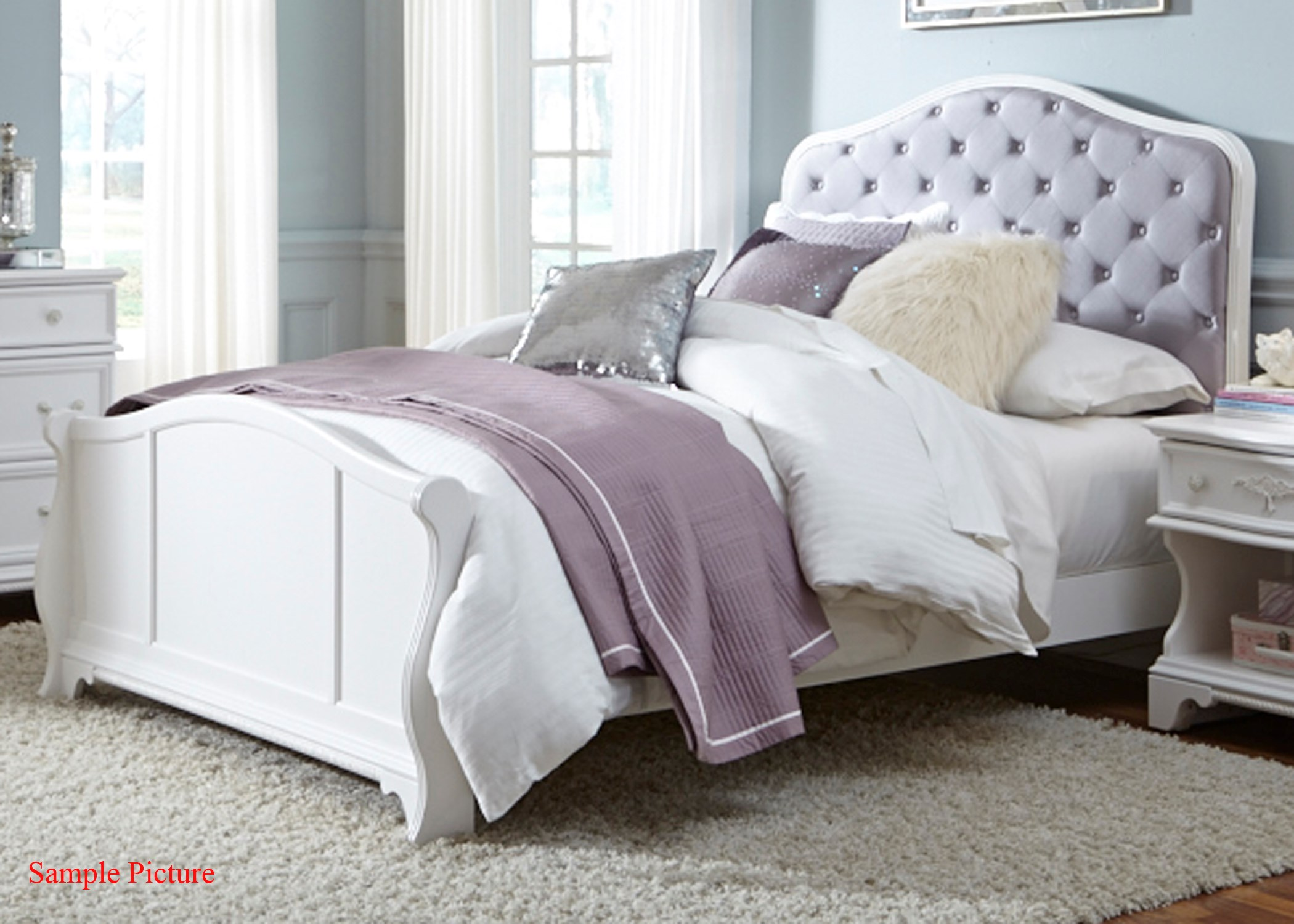Arielle Youth Bedroom Full Panel Bed By Liberty Furniture
