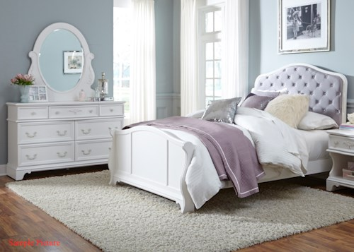 Liberty Furniture Arielle Youth Bedroom Full Bedroom Group