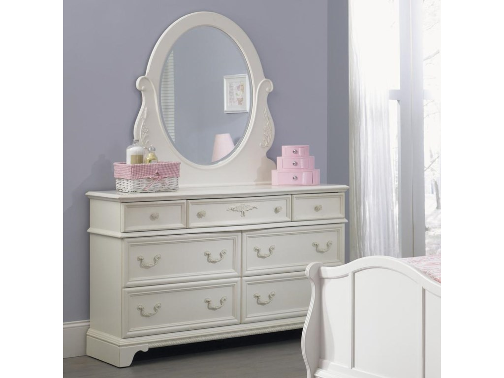 Liberty Furniture Arielle Youth BedroomDresser & Mirror