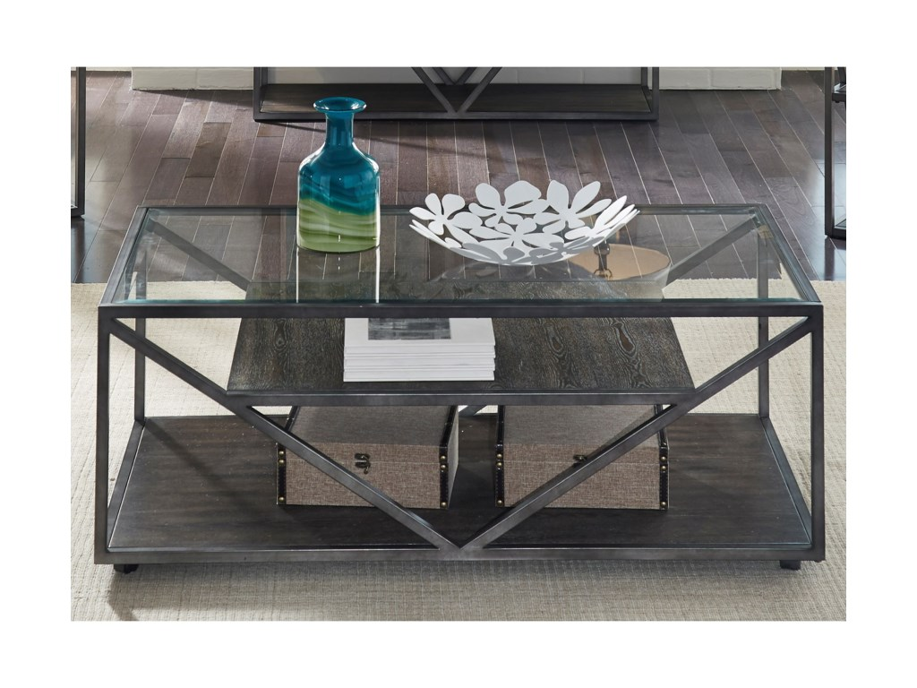 Liberty Furniture UrbanRectangular Cocktail Table