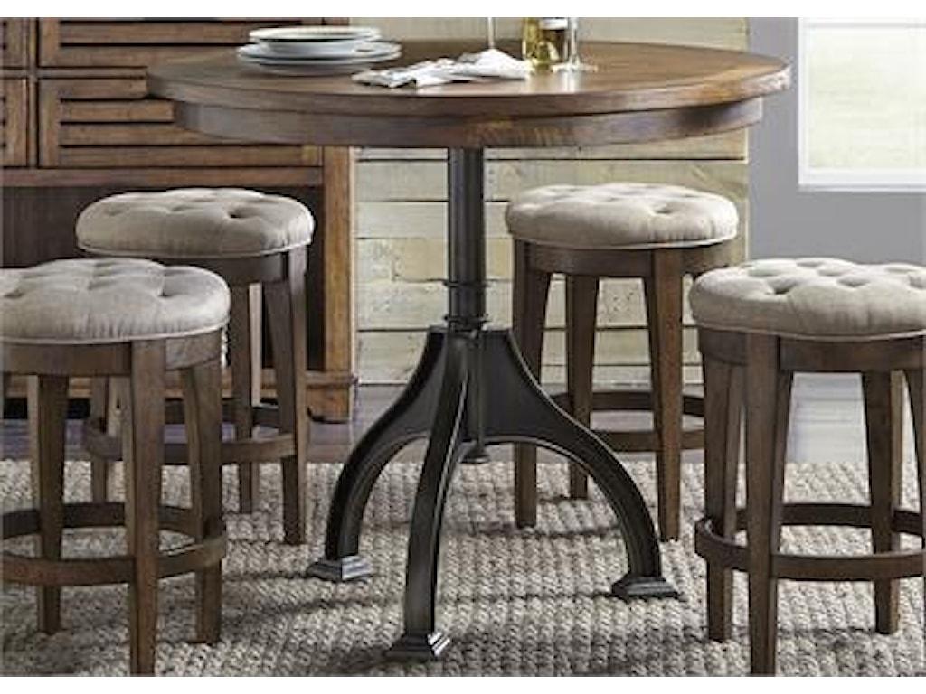 Liberty Furniture ArlingtonUpholstered Backless Barstool