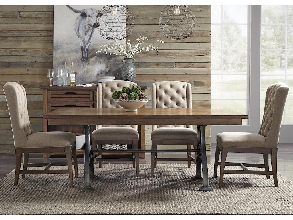 Liberty Furniture Arlington5 Piece Trestle Table Set