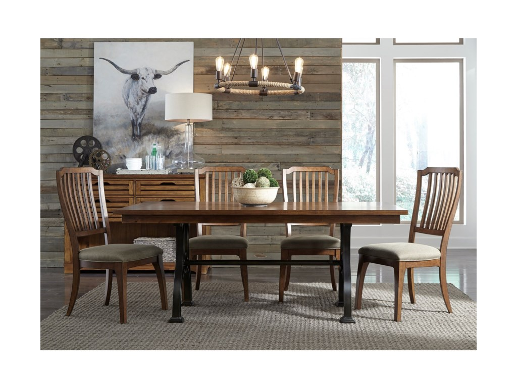 Liberty Furniture Arlington5 Piece Trestle Table Set