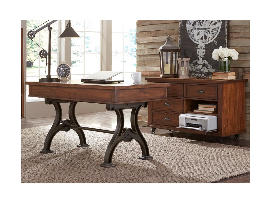Liberty Furniture ArlingtonDesk and Credenza