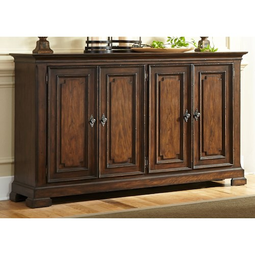 Liberty Furniture Armand Traditional 4 Door Buffet