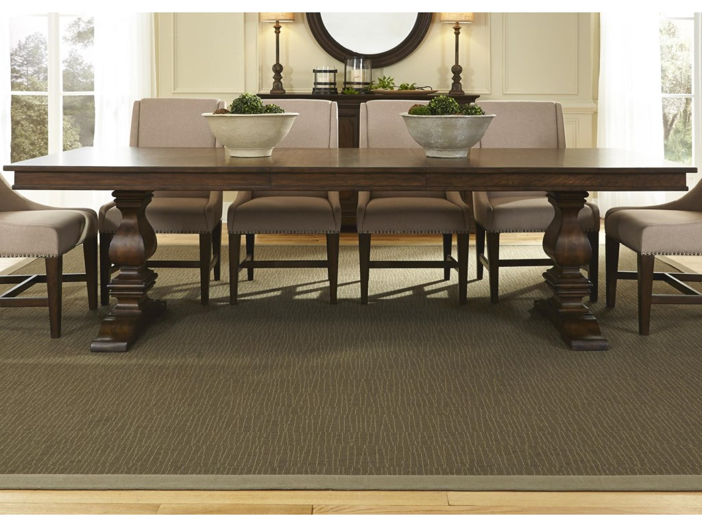 Liberty Furniture ArmandTrestle Table