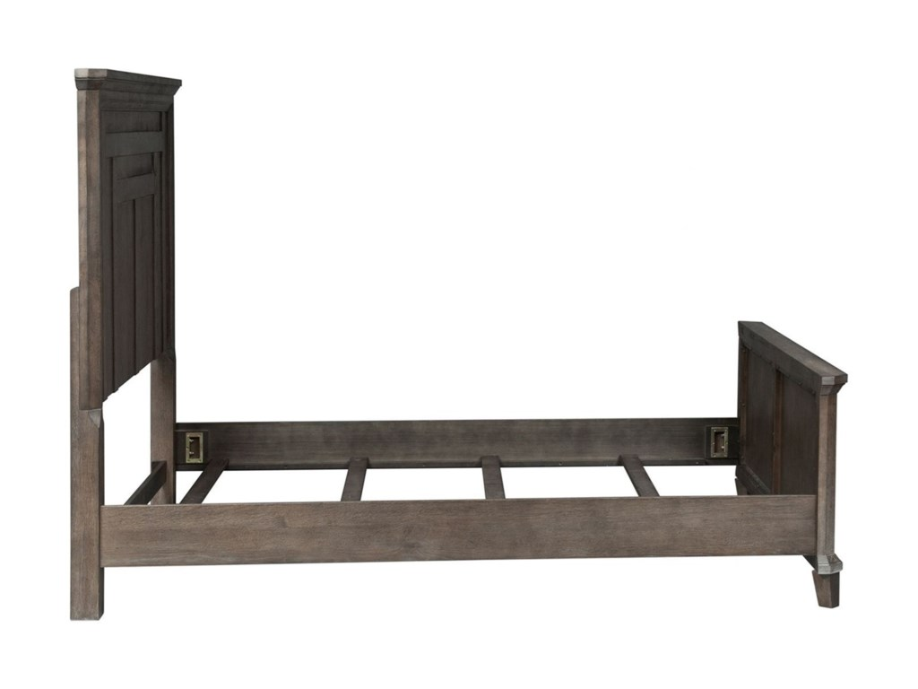 Liberty Furniture Artisan PrairieQueen Panel Bed