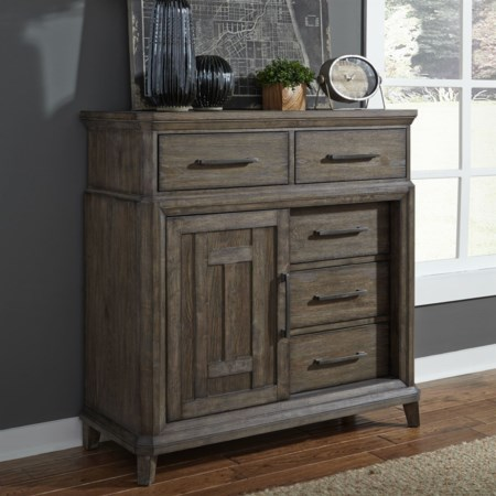 5 Drawer Chest with Doors