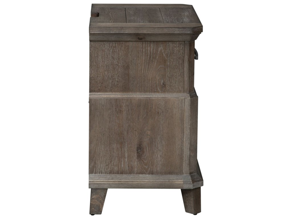 Liberty Furniture Artisan Prairie2 Drawer Nightstand