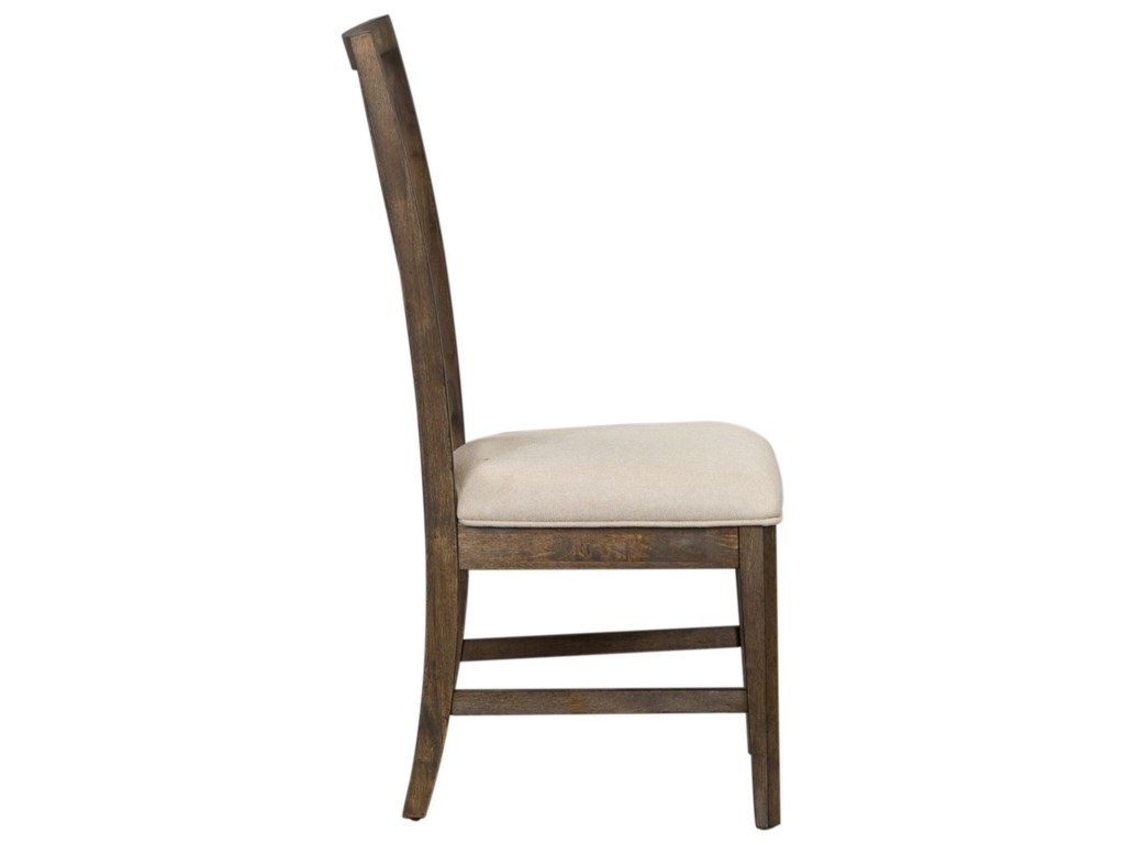 Liberty Furniture Artisan PrairieLattice Back Side Chair