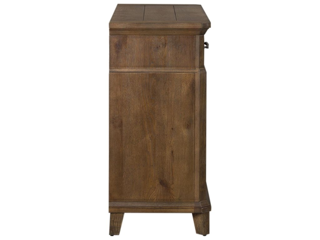 Liberty Furniture Artisan PrairieSliding Door Buffet